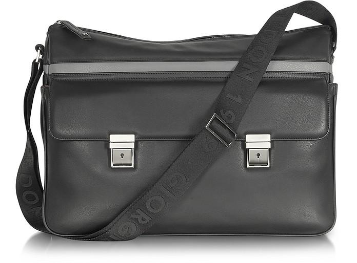 Life Leather Messenger Bag - Giorgio Fedon 1919