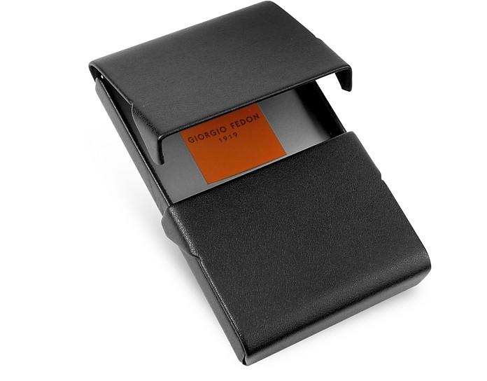 Giorgio fedon 1919 black business card holder at forzieri black business card holder giorgio fedon 1919 4800 actual transaction amount colourmoves Images