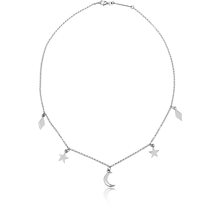Lace Moon and Stars Necklace - Federica Tosi