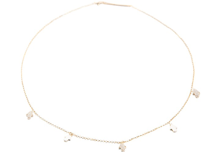 Lace Hand Necklace - Federica Tosi