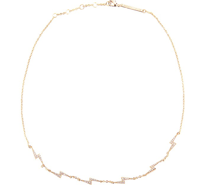 Lace Mini Flash Necklace - Federica Tosi