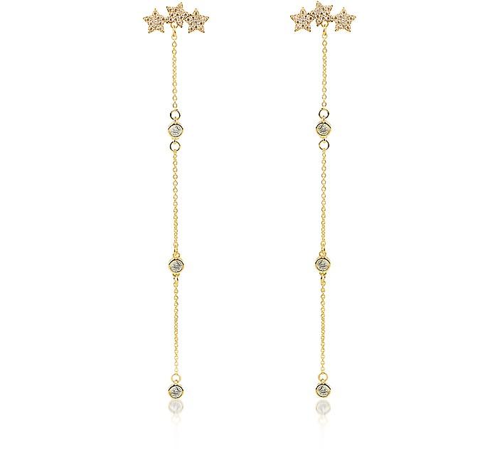 Mini Stars Long Earrings - Federica Tosi