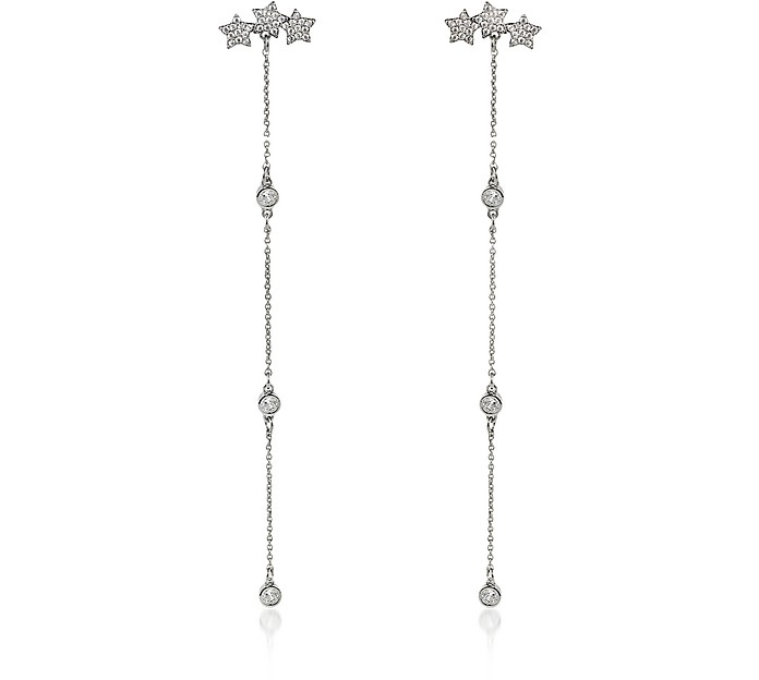 Mini Stars Long Earrings - Federica Tosi