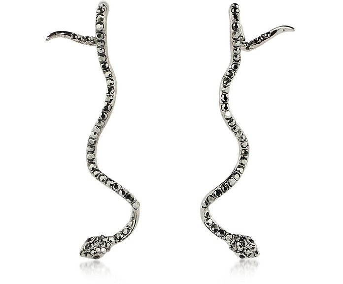 Long Snake Earrings - Federica Tosi