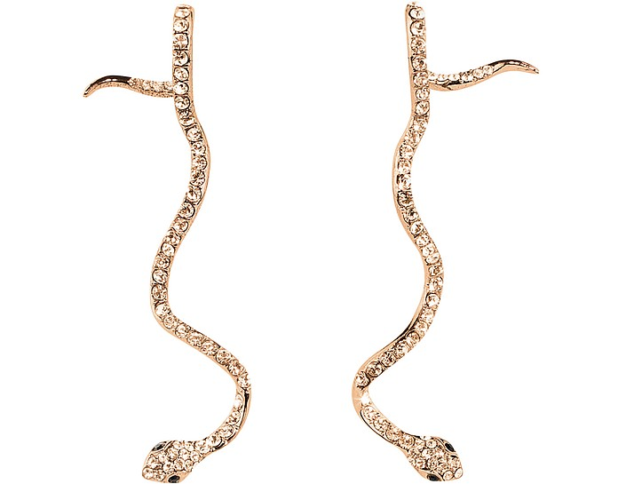 Long Snake Earrings - Federica Tosi