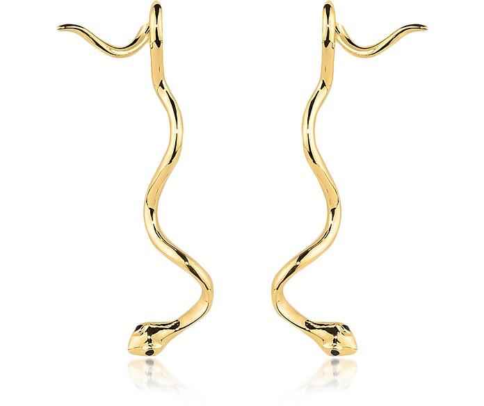 Long Snake Basic Earrings - Federica Tosi