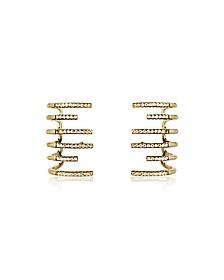 New Hook Earrings w/Strass - Federica Tosi