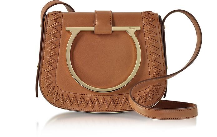 Salvatore Ferragamo Sabine Sella Leather Small Crossbody Bag at ... 62405c95d6dd9