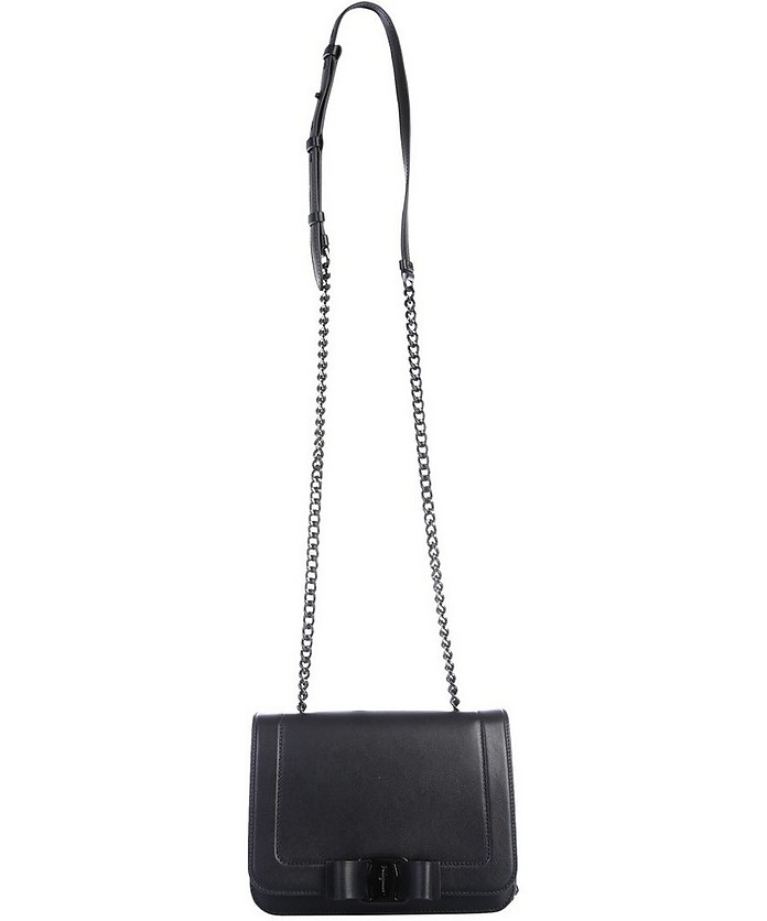 Shoulder Bag With Logo - Salvatore Ferragamo