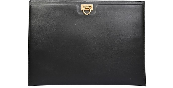 Pouch With Logo - Salvatore Ferragamo