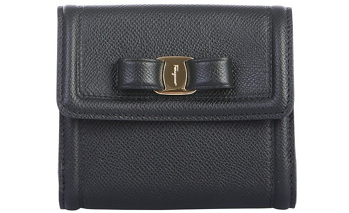 Wallet With Logo - Salvatore Ferragamo