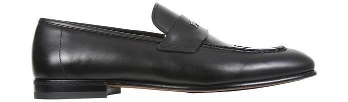 Loafers With Logo - Salvatore Ferragamo