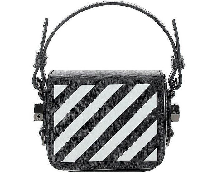 Diag Baby Flap Bag  - Off-White