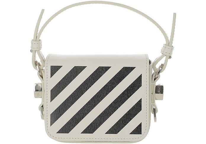 Diag Baby Flap Bag - Off-White / オフホワイト