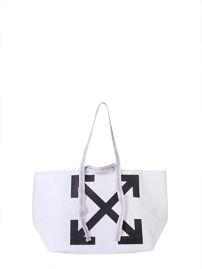 Large Tote Bag - Off-White