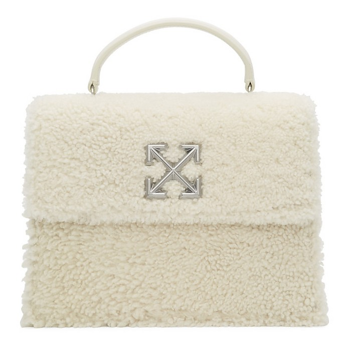 Off-White Furry Jitney 2.8 Bag - Off-White
