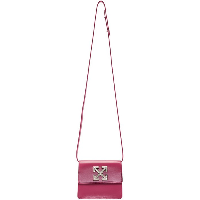 Pink Jitney 0.7 Clutch - Off-White