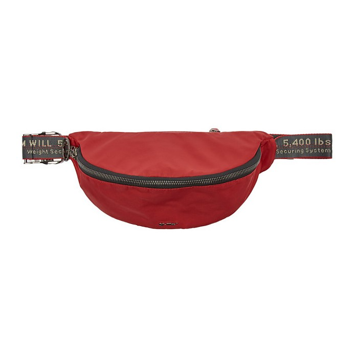 Red Basic Fanny Pack - Off-White