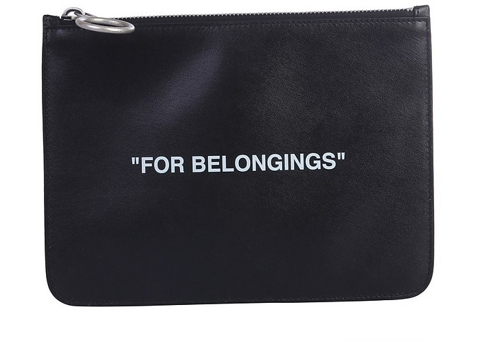 """""""Quote"""" Pouch - Off-White"""