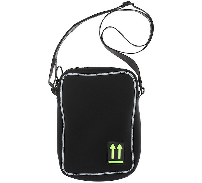 Black Messenger Bag  - Off-White
