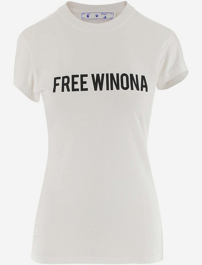 Women's T-Shirt - Off-White