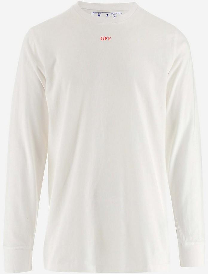 Men's Polo Shirt W/Short Sleeve - Off-White