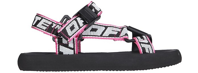Flatform Treck Sandals - Off-White