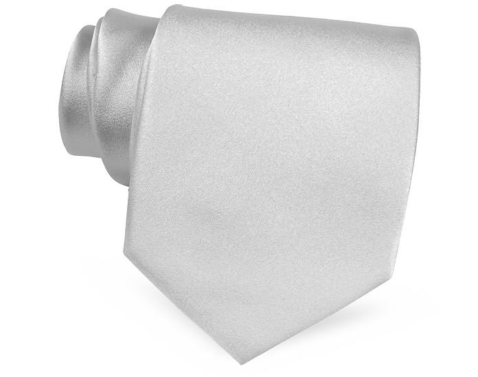 Boys Solid Silk Tie - 120 cm - Forzieri