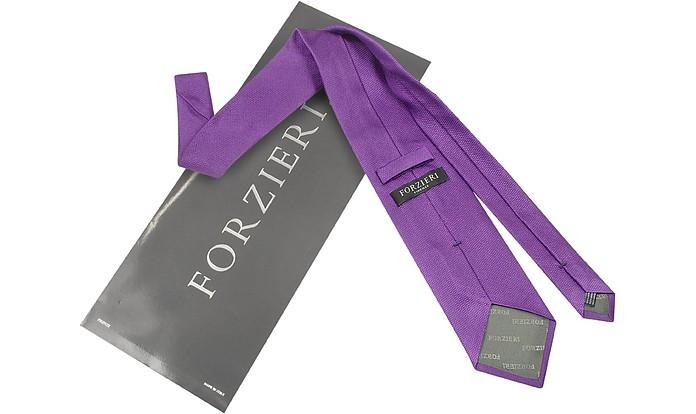 Forzieri Gold unita Line tinta seta Cravatta di in Mattone q0qxzRP