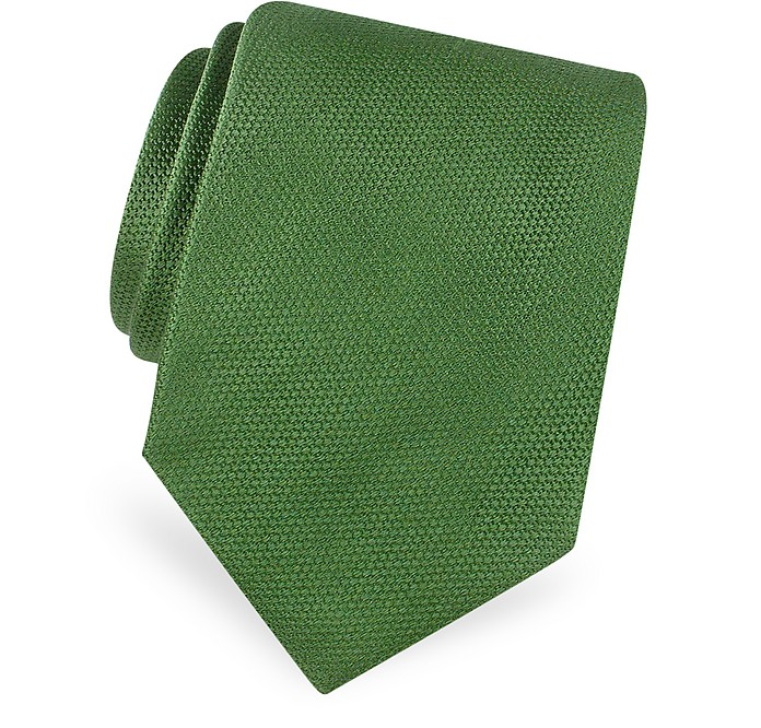 Gold Line Krawatte aus Seide - Forzieri