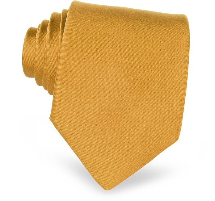Einfarbige Seidenkrawatte - Forzieri