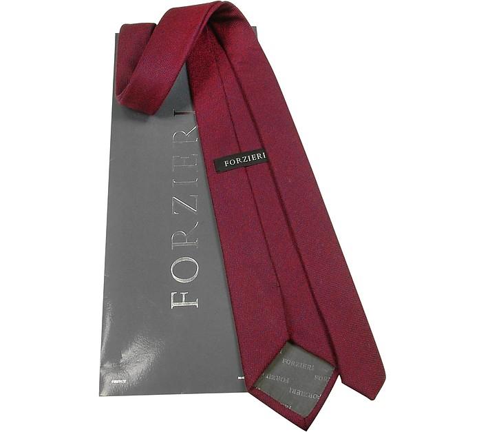 Cravatta in Cachemire Rosso Forzieri Jn0FWxBFwq