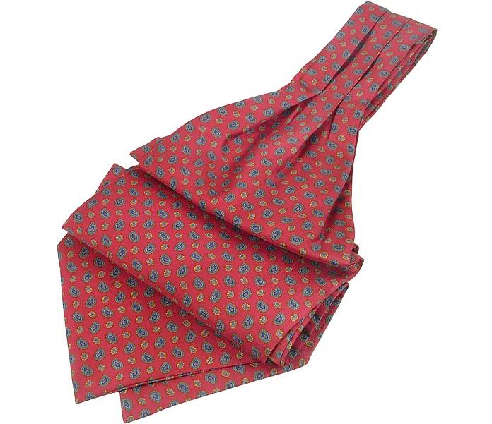 Corbata Ascot Seda Sarga Estampado - Forzieri