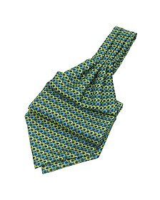 Optical Print Silk Ascot - Forzieri