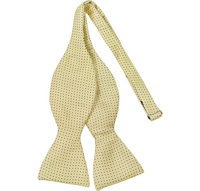 Small Polkadot Self-tie Silk Bowtie - Forzieri