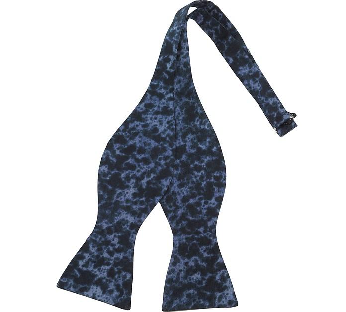 Tie & Dye Silk Self-tie Bowtie - Forzieri