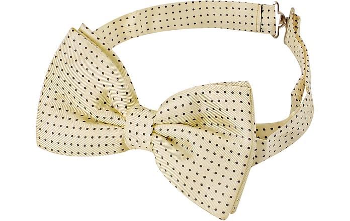 Small Polkadot Pre-Tied Silk Bowtie - Forzieri