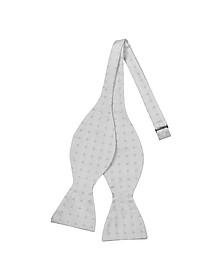 Square Dot Woven Silk Bowtie - Forzieri