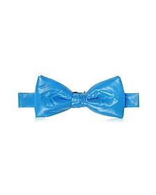 Sky Blue Nylon Puffer Bow Tie - Forzieri