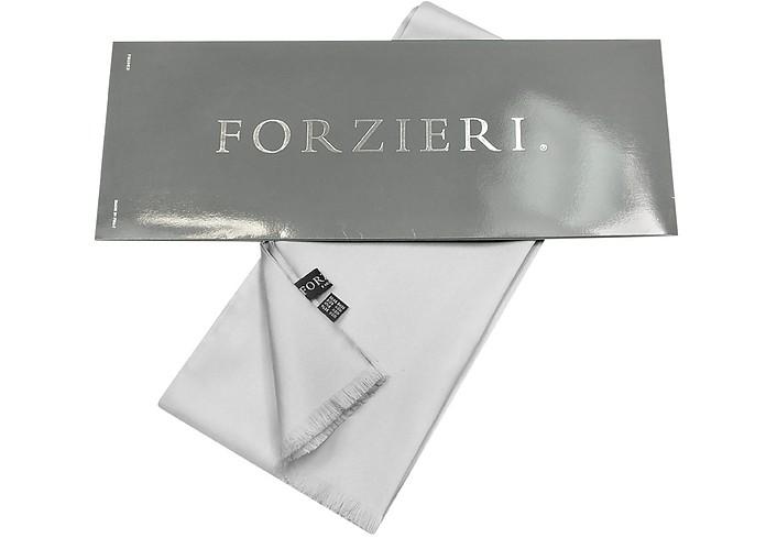 Foulard in seta tinta unita Forzieri Nero 377qD0vga