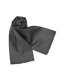 Solid Silk Scarf - Forzieri