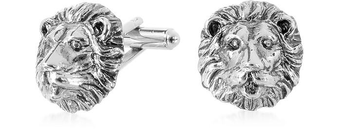 Old Style - Lion Cufflinks - Forzieri