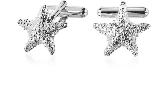 Old Style - Starfish Cufflinks - Forzieri