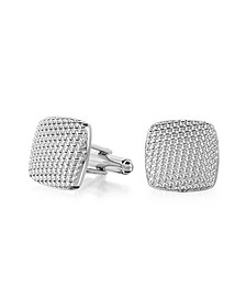 Evergreen - Milled Square Cufflinks - Forzieri