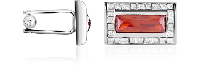 Crystal Cuff Links - Forzieri