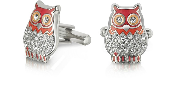 Fashion Garden - Owl Cufflinks - Forzieri