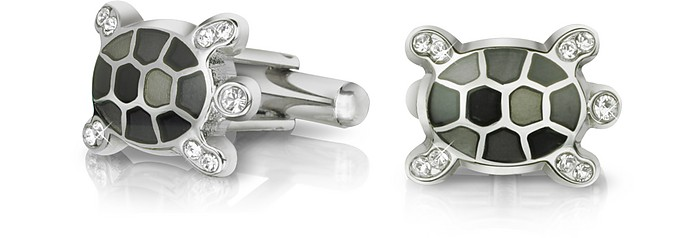 Fashion Garden - Turtle Cufflinks - Forzieri