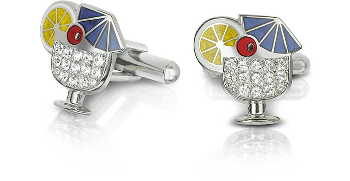 Fashion Garden - Drink Cufflinks - Forzieri