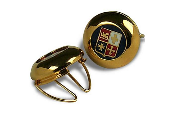 Cubre-botón Chapado en Oro - Forzieri