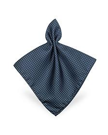 Mini Polkadot Twill Silk Pocket Square - Forzieri